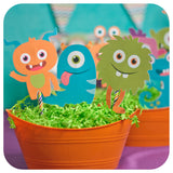 Little Monsters Centerpieces Printable PDF
