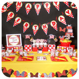 Minnie Mouse Food Tent Labels Printable PDF