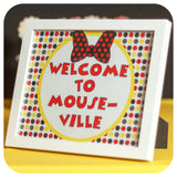 Minnie Mouse Signs Printable PDF
