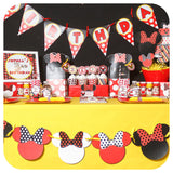 Minnie Mouse Party Package Printable PDF