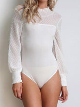 Load image into Gallery viewer, Fashion Sexy Plain Long Sleeve Romper