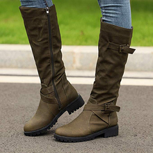 Load image into Gallery viewer, Stylish Suede Women's Long Boots