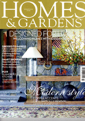 Wick & Tallow featured in the March 2014 edition of Homes & Gardens Magazine!