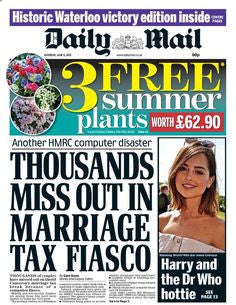 Daily Mail - 6th June 2015
