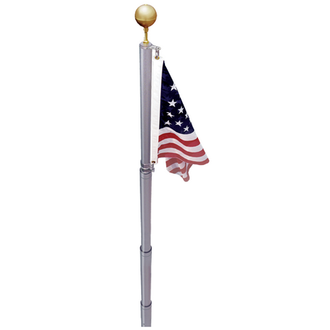 21' Telescopic Liberty Pole - ColorFastFlags | All the flags you'll ever need!