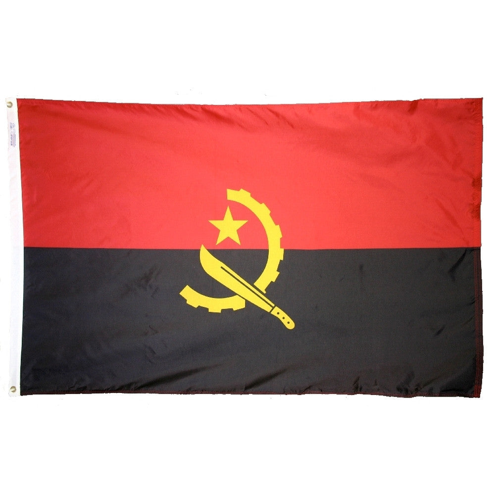 Angola Flag - ColorFastFlags | All the flags you'll ever need!