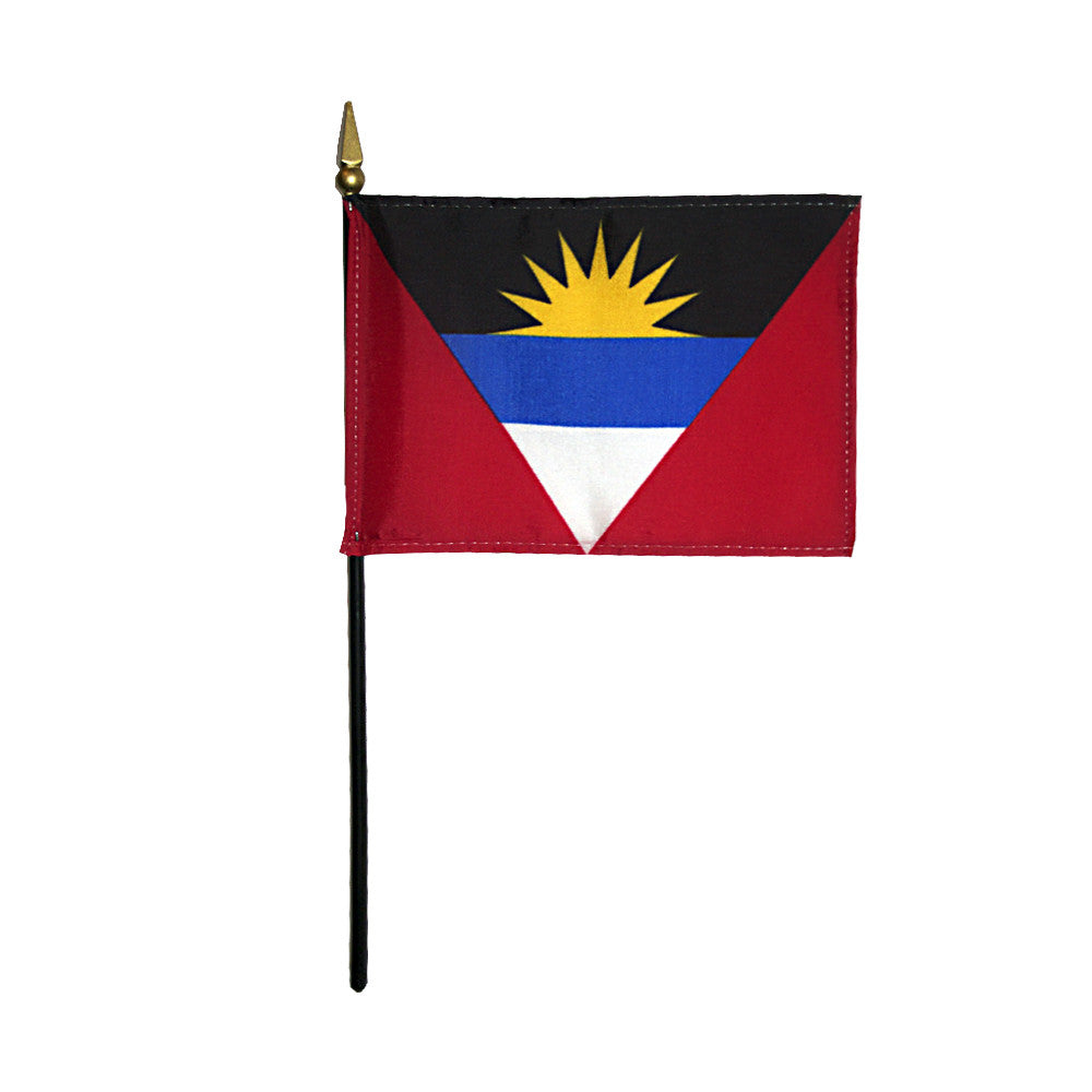 Miniature Antigua & Barbuda Flag - ColorFastFlags | All the flags you'll ever need!