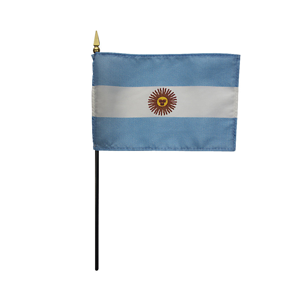 Miniature Argentina Flag - ColorFastFlags | All the flags you'll ever need!