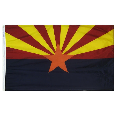 "Arizona Courtesy Flag 12"" x 18"" - ColorFastFlags 