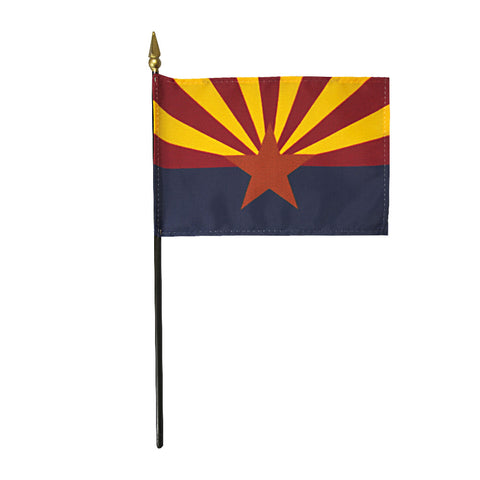 Miniature Flag - Arizona - ColorFastFlags | All the flags you'll ever need!