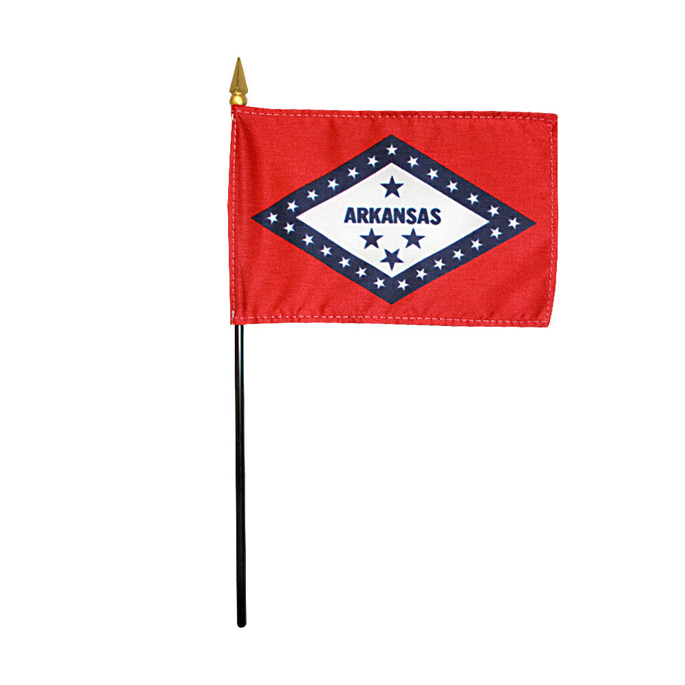 Miniature Flag - Arkansas - ColorFastFlags | All the flags you'll ever need!