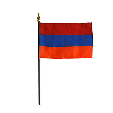 Miniature Armenia Flag - ColorFastFlags | All the flags you'll ever need!
