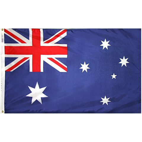 "Australia Courtesy Flag 12"" x 18"" - ColorFastFlags 