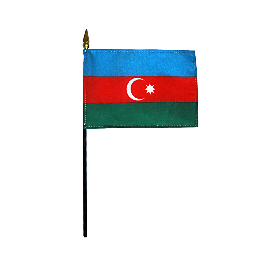 Miniature Azerbaijan Flag - ColorFastFlags | All the flags you'll ever need!