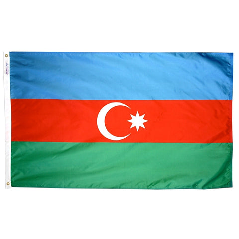 Azerbaijan Flag - ColorFastFlags | All the flags you'll ever need!