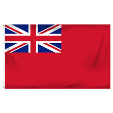 "British Red Ensign Courtesy Flag 12"" x 18"""