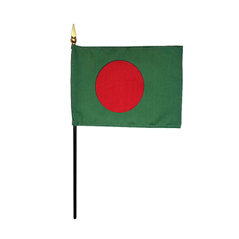 Miniature Bangladesh Flag - ColorFastFlags | All the flags you'll ever need!
