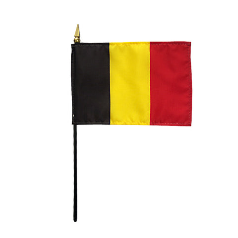 Miniature Belgium Flag - ColorFastFlags | All the flags you'll ever need!