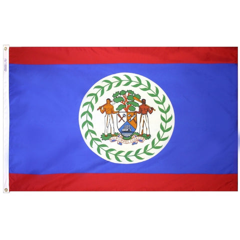 Belize Flag - ColorFastFlags | All the flags you'll ever need!
