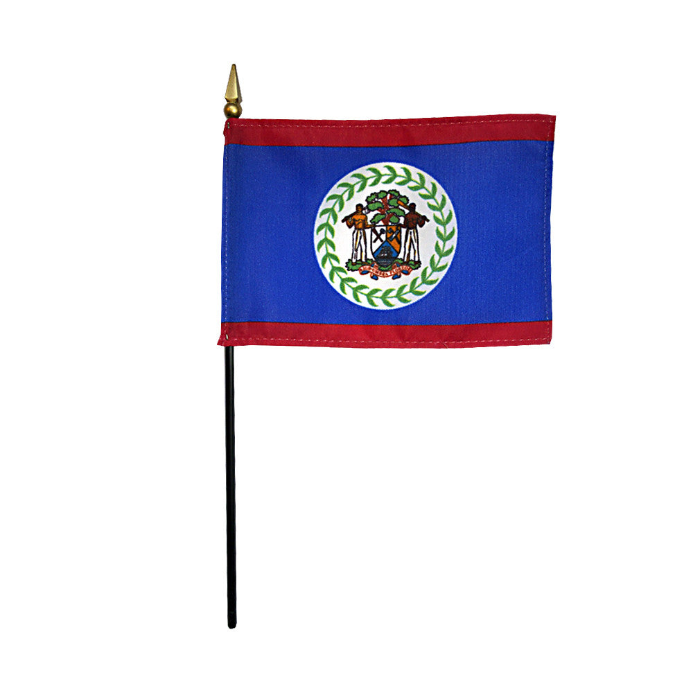 Miniature Belize Flag - ColorFastFlags | All the flags you'll ever need!