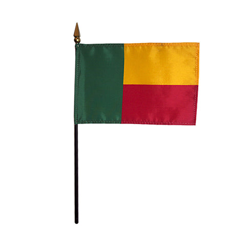 Miniature Benin Flag - ColorFastFlags | All the flags you'll ever need!