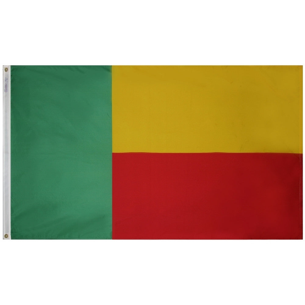 Benin Flag - ColorFastFlags | All the flags you'll ever need!