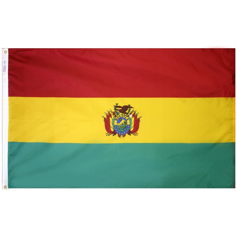 Bolivia Government Flag - ColorFastFlags | All the flags you'll ever need!