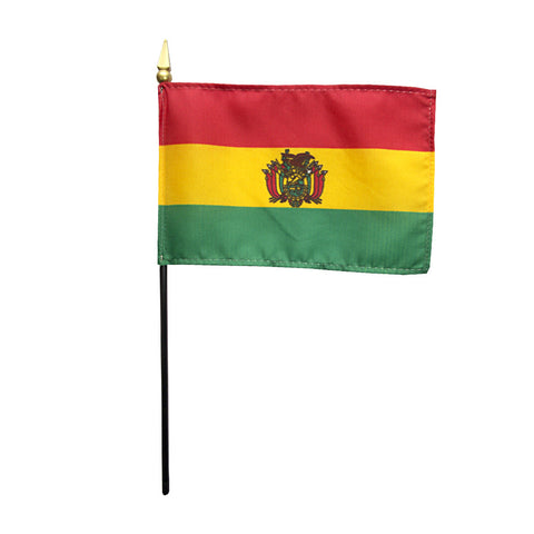 Miniature Bolivia Flag - ColorFastFlags | All the flags you'll ever need!
