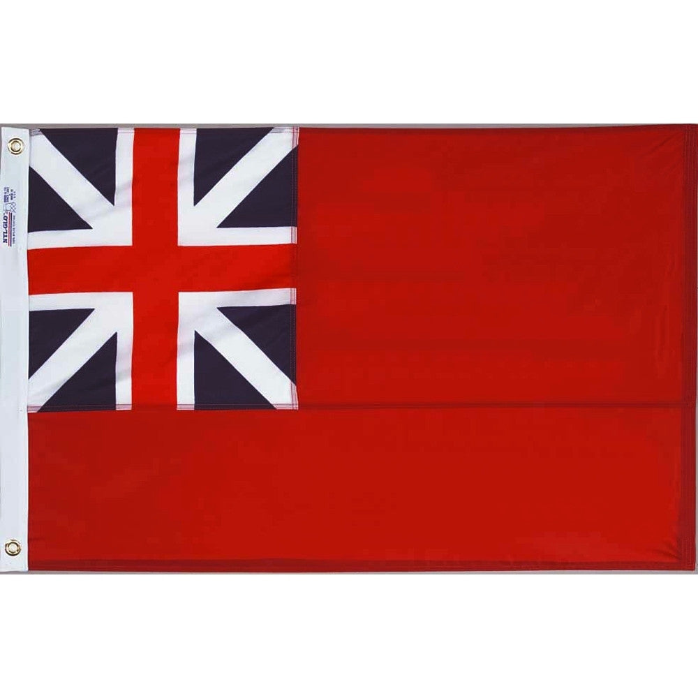British Red Ensign 1707 Flag - ColorFastFlags | All the flags you'll ever need!