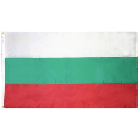 Bulgaria Flag - ColorFastFlags | All the flags you'll ever need!