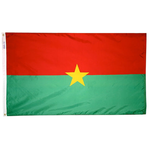 Burkina Faso Flag - ColorFastFlags | All the flags you'll ever need!