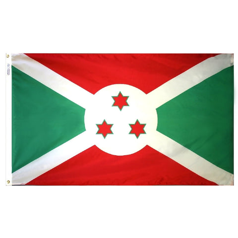 Burundi Flag - ColorFastFlags | All the flags you'll ever need!