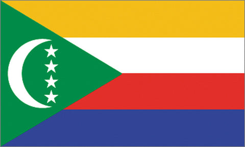 Comoros Flag - ColorFastFlags | All the flags you'll ever need!
