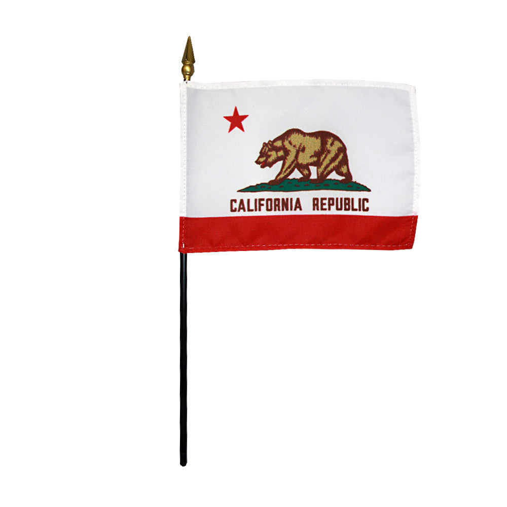 Miniature Flag - California - ColorFastFlags | All the flags you'll ever need!