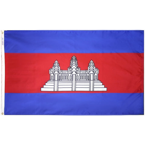 Cambodia Flag - ColorFastFlags | All the flags you'll ever need!