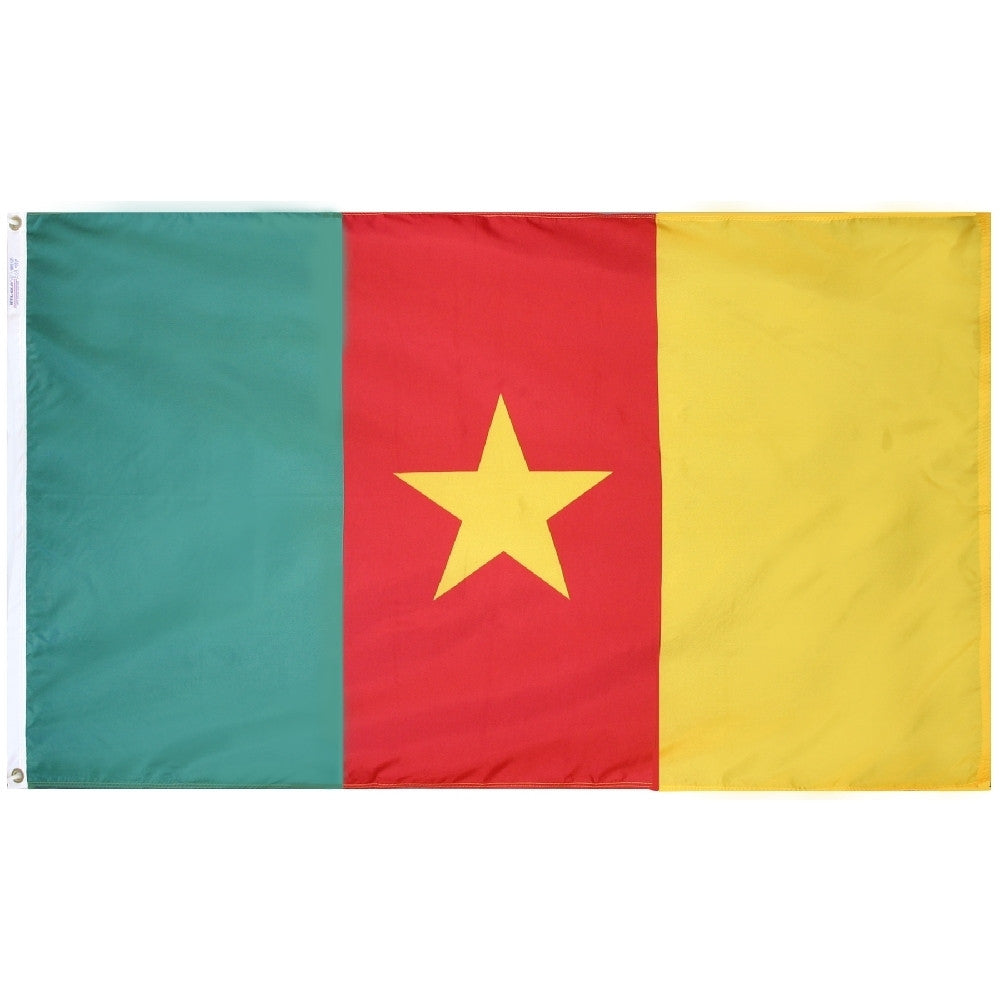 Cameroon Flag - ColorFastFlags | All the flags you'll ever need!