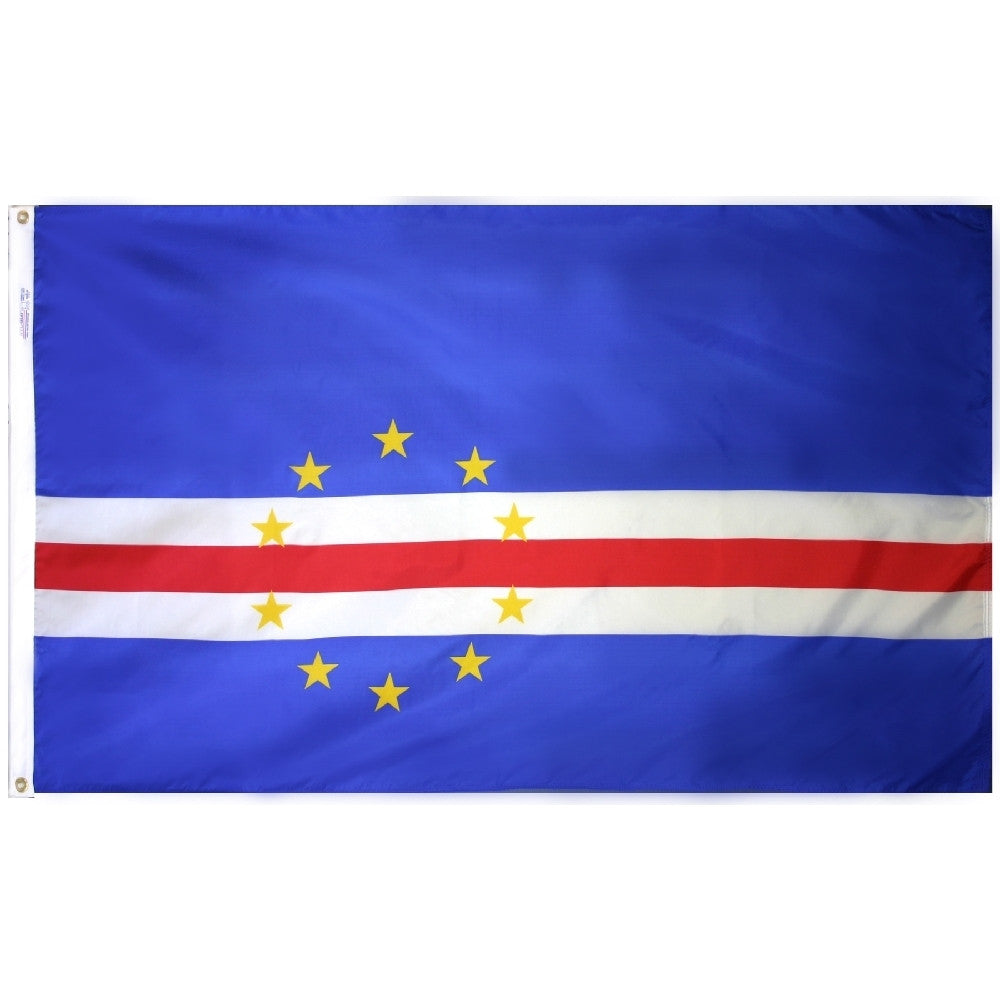 Cape Verde Flag - ColorFastFlags | All the flags you'll ever need!