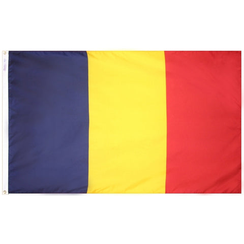 Chad Flag - ColorFastFlags | All the flags you'll ever need!