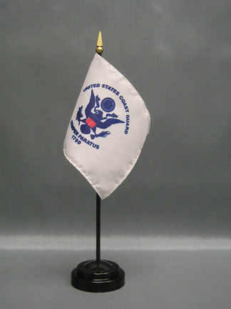 Miniature Coast Guard Flag - ColorFastFlags | All the flags you'll ever need!