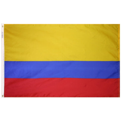 Colombia Courtesy Flag - ColorFastFlags | All the flags you'll ever need!