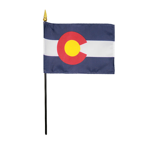Miniature Flag - Colorado - ColorFastFlags | All the flags you'll ever need!