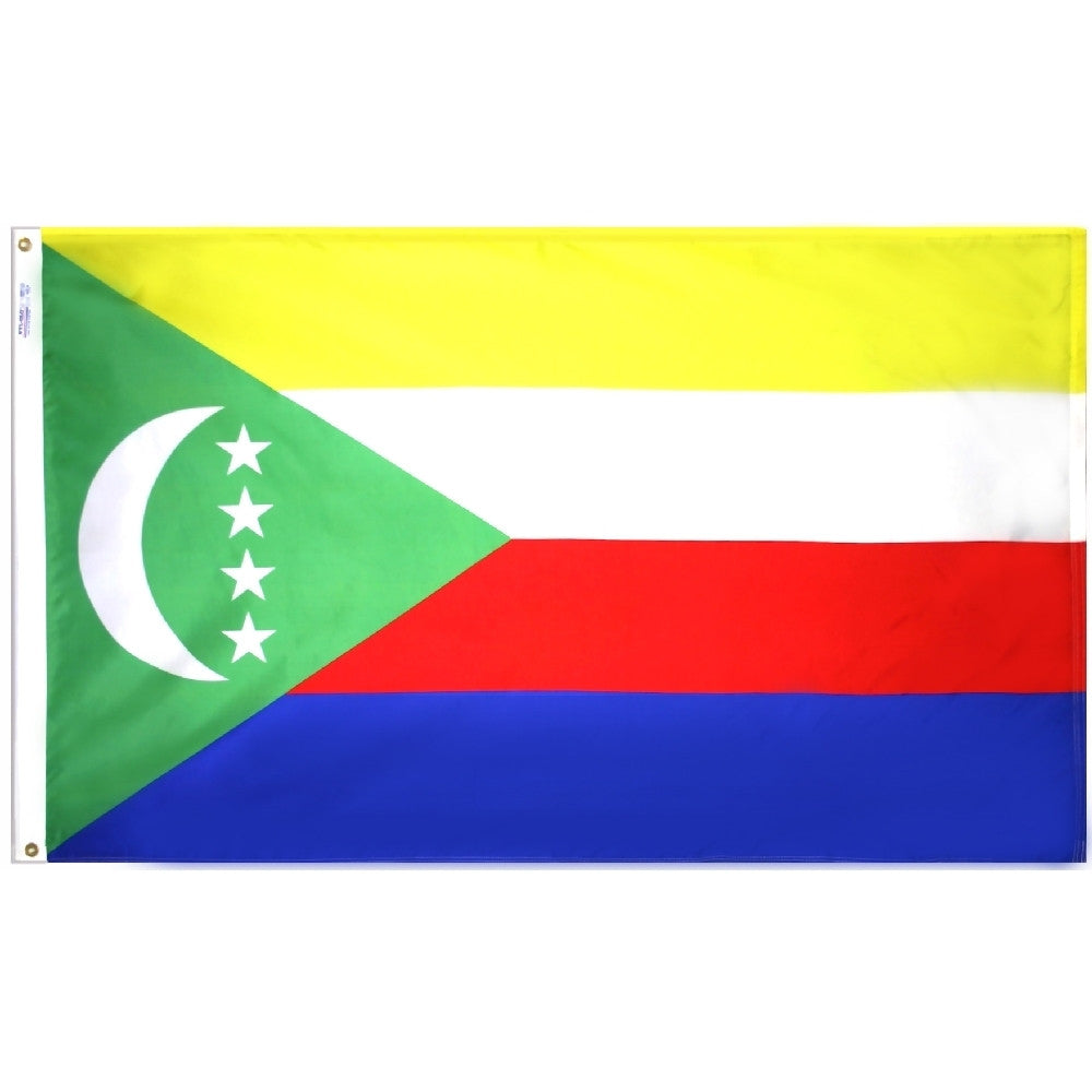 Comoros 2002 Flag - ColorFastFlags | All the flags you'll ever need!