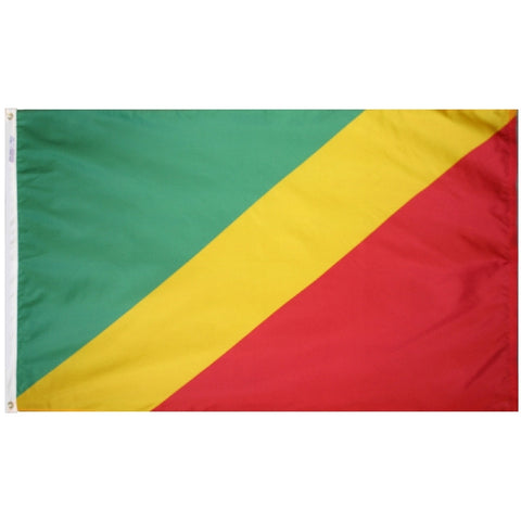 Congo Flag - ColorFastFlags | All the flags you'll ever need!