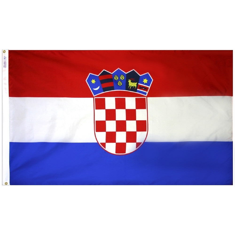 Croatia Flag - ColorFastFlags | All the flags you'll ever need!