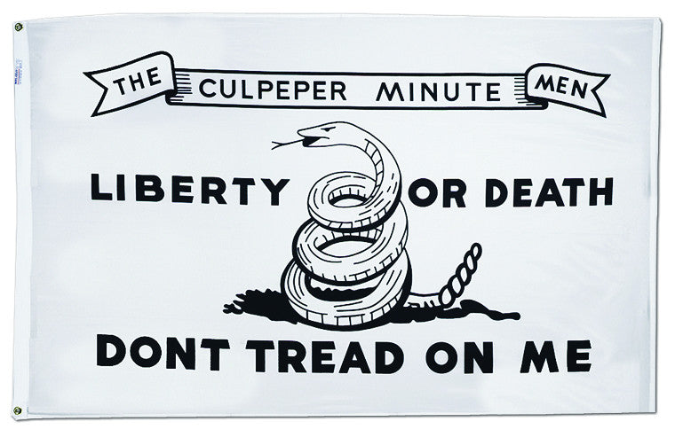 Culpeper 1775 Don't Tread On Me Flag - ColorFastFlags | All the flags you'll ever need!