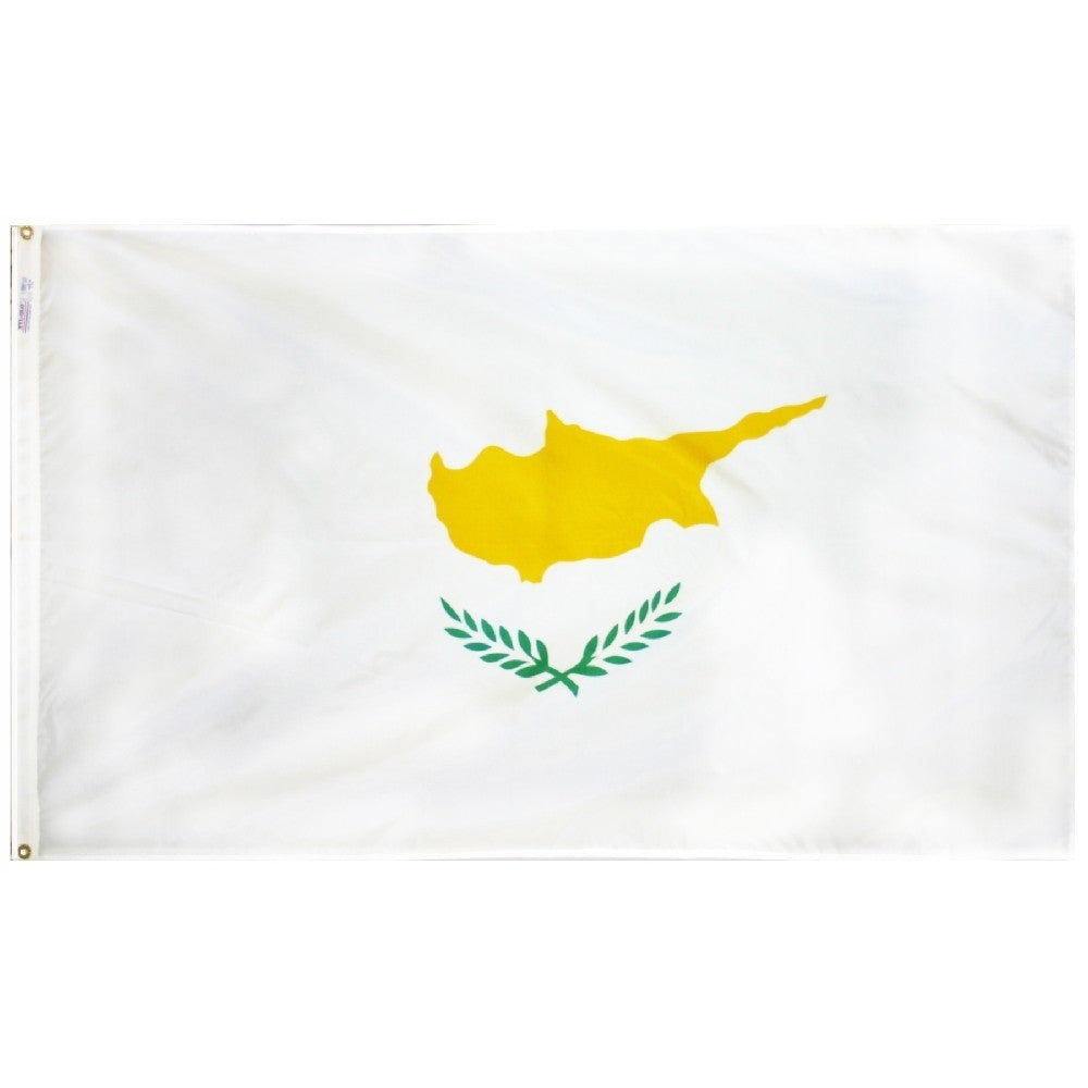 Cyprus Flag - ColorFastFlags | All the flags you'll ever need!