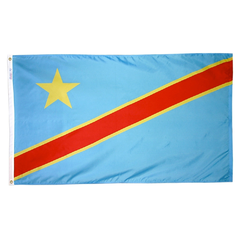 Democratic Republic of the Congo - ColorFastFlags | All the flags you'll ever need!