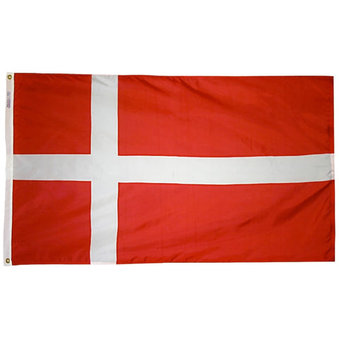 Denmark Flag - ColorFastFlags | All the flags you'll ever need!