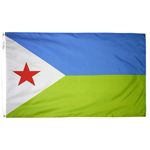 Djibouti Flag - ColorFastFlags | All the flags you'll ever need!
