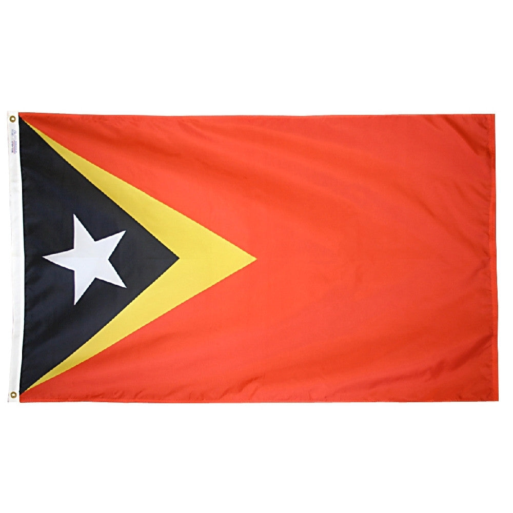 East Timor Flag - ColorFastFlags | All the flags you'll ever need!